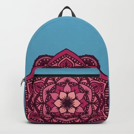 [Mandala] Cherry Blossom Blues Backpack