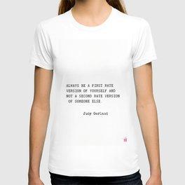 Judy Garland quote T-shirt