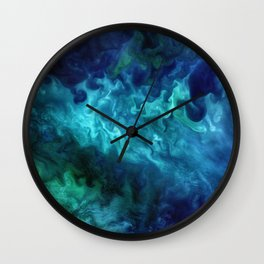 The Art of Nature - Churning in the Chukchi Sea Wall Clock