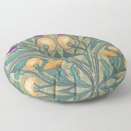 Dandelion and Primrose Floor Pillow