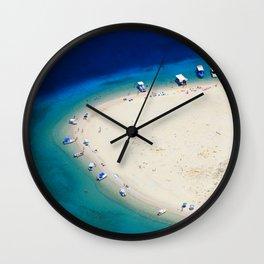 Aquazure  Wall Clock