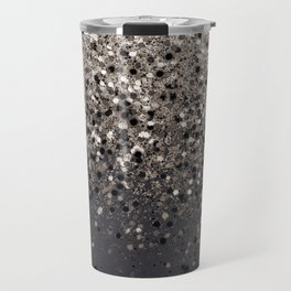 Sepia Glitter #1 #shiny #decor #art #society6 Travel Mug