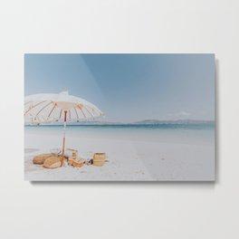 Summer Beach Time II Metal Print