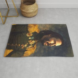 Keanu Reeves Poster, Classical Painting, Regal art, General, John Wick, Matrix, Actor Print Rug