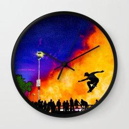Venice Beach Skate Park Wall Clock