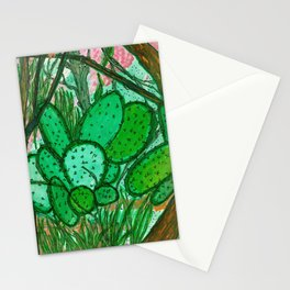 MARFA CACTUS High Sonoran Desert West of the Pecos Stationery Cards