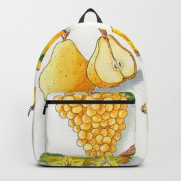 collage of fruits Backpack