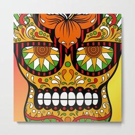 Sugar Skull #5 Metal Print