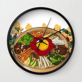 KOREAN FOOD Wall Clock