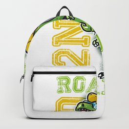 Funny 2nd Grade Dinosaur graphic - Perfect School Gift Backpack