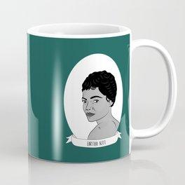 Eartha Kitt Illustrated Portrait Coffee Mug