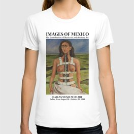 "Frida Kahlo Exhibition Art Poster - ""The Broken Column"" 1988 T-shirt"