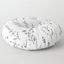 New Wildflowers Floor Pillow