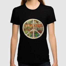 Peace Sign - Love - Graffiti T-Shirt