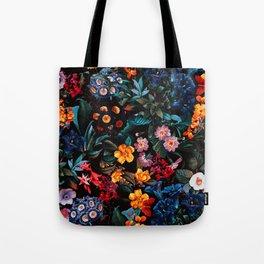 Midnight Garden XVI Tote Bag