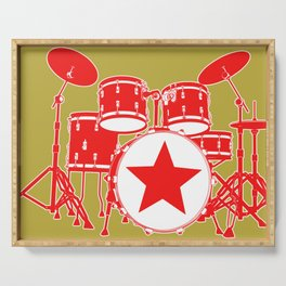 Red Drums Serving Tray