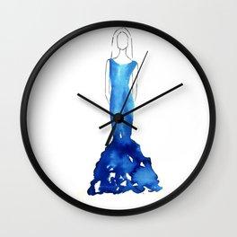 Fashion Illustration #3 Wall Clock