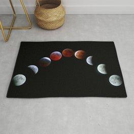 Moon Phases (Blood Moon) Rug