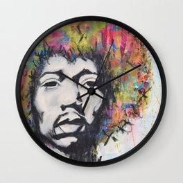 Afro Man Wall Clock