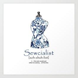 Sewcialist Kunstdrucke
