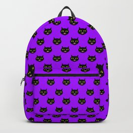 Black Kitty Cat Backpack