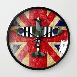 Spitfire Mk.IX Wall Clock