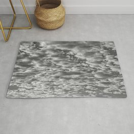 """SkyFall 2"" Sky and Cloud Art by Murray Bolesta! Rug"