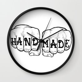 Hand Made & In Your Face Wall Clock