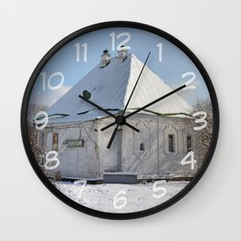 the old building of the Treasury Wall Clock