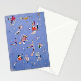 Kandinsky - Bleu de Ciel (sky blue) Stationery Cards
