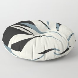 Still Life with Potted Plant Floor Pillow