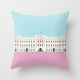 London, England | Buckingham Palace Throw Pillow