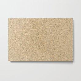 Sunny Sand Metal Print