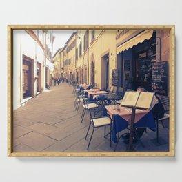 Italy Tuscany Cortona. Serving Tray