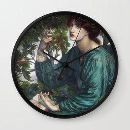 Dante Gabriel Rossetti - The Day Dream Wall Clock