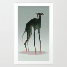 Demon Dog Art Print