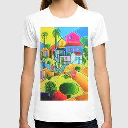 Morro da Favela by Tarsila do Amaral T-shirt