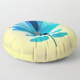 Die Blaue Blume Floor Pillow