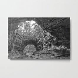 Natural Bridge, Wayne County, TN Metal Print