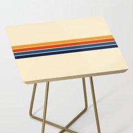 Classic Retro Stripes II Side Table