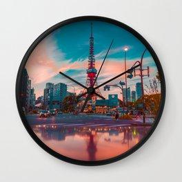 Tokyo 08 Wall Clock