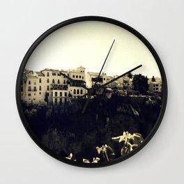 Faded memories - Ronda Wall Clock
