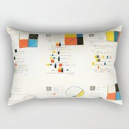 Euclidean joy Rectangular Pillow