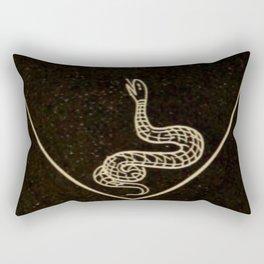 Snake Heart Rectangular Pillow
