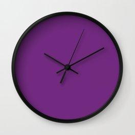 Purple (Rainbow Collections) Wall Clock