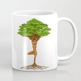 Tree Of Life Zen Yoga Coffee Mug