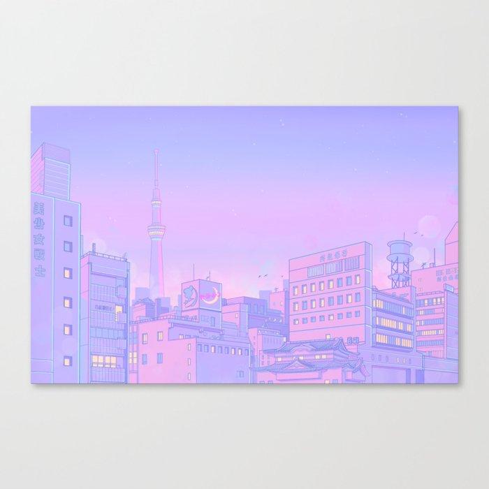 Sailor City Leinwanddruck