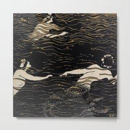 River Nymphs Metal Print