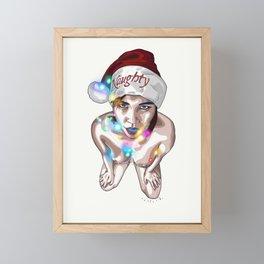 Naughty Framed Mini Art Print