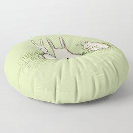 Bunny Family Floor Pillow
